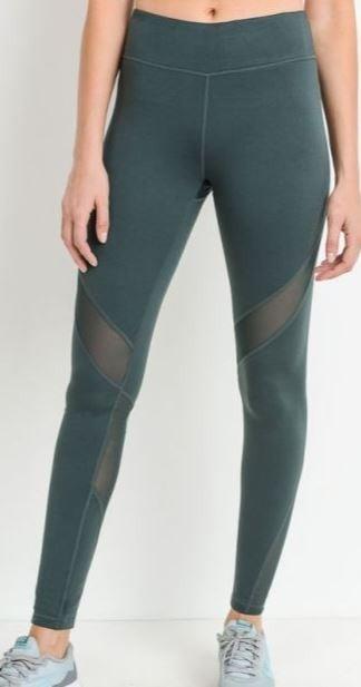 (4 colors!) MONO B  Slay The Day Slanted Wrap Leggings