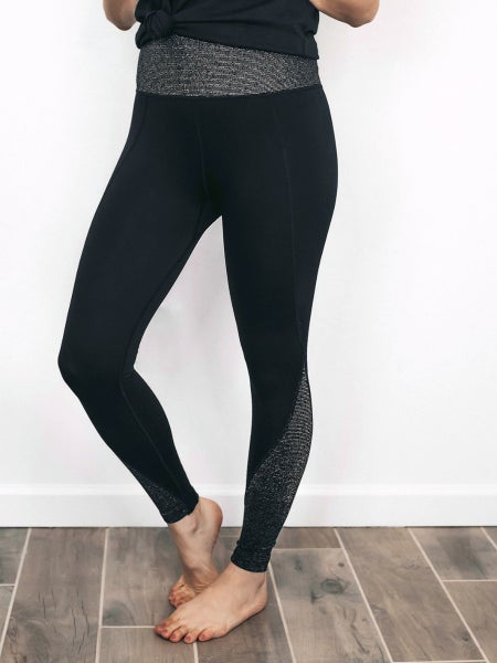 Never Dull Your Sparkle Glitter Infused Seamless Leggings