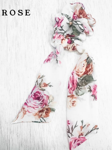 (10 print options!) Let's Go To Brunch Hair Scarf Scrunchie