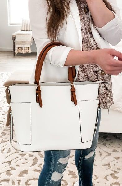 (4 colors) Classy Chic 3-in-1 handbag