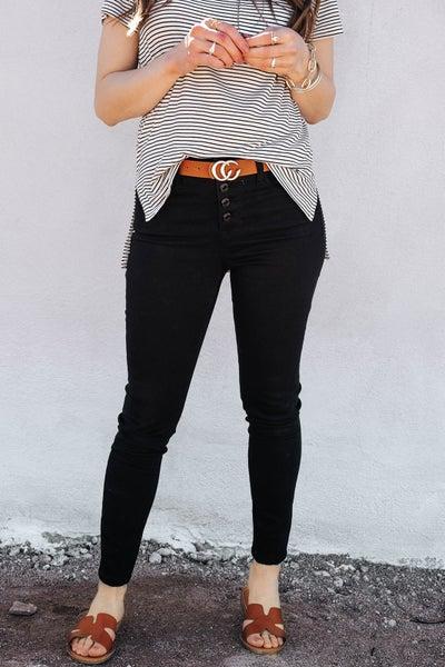 (SECRET BRAND) Wardrobe Staple 5 fly button Jeans