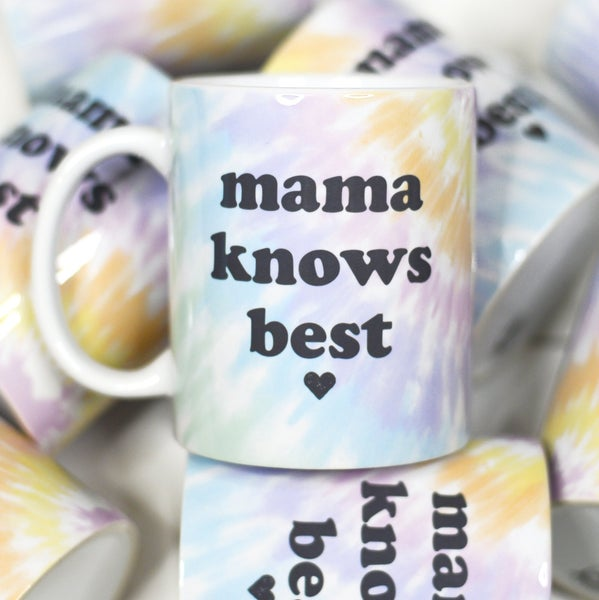 MAMA KNOWS BEST MUG