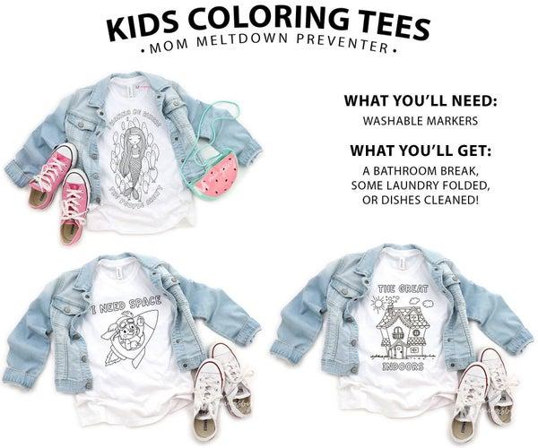 KIDS COLORING TEE