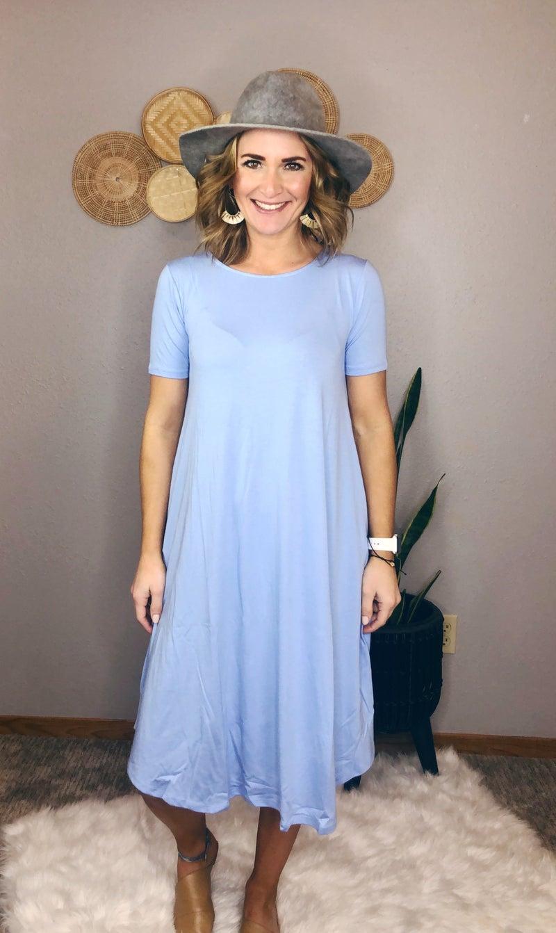 SHORT KNEE LENGTH DRESS