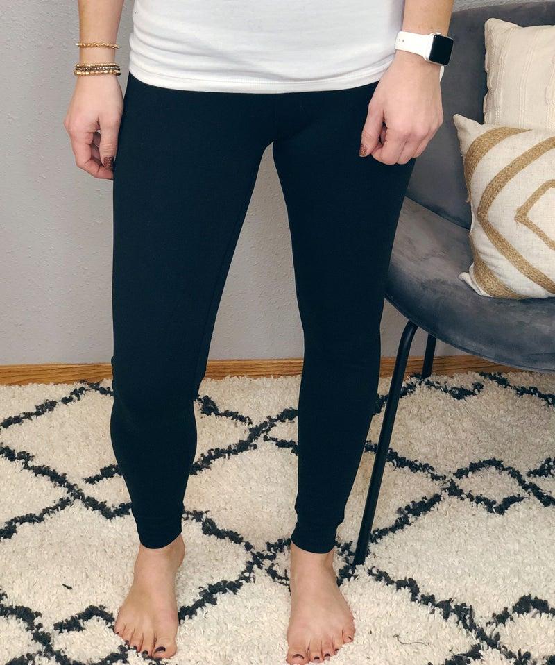 HIGH RISE BUTTERY-SOFT LEGGINGS