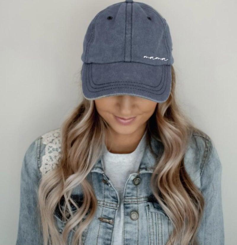 MAMA CURSIVE HAT