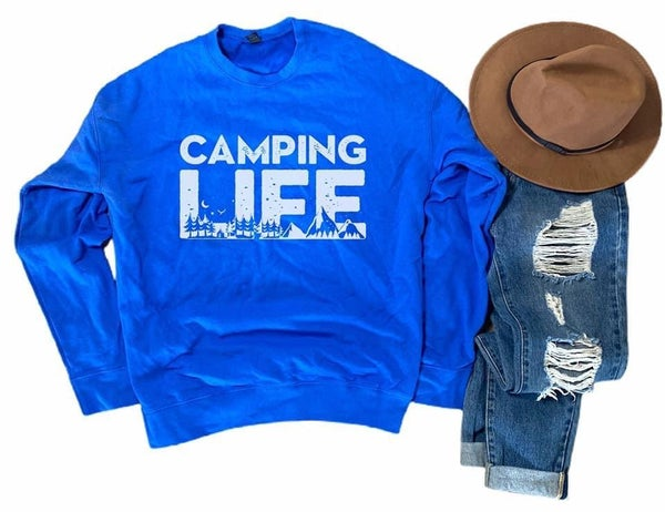 CAMPING LIFE SWEATER