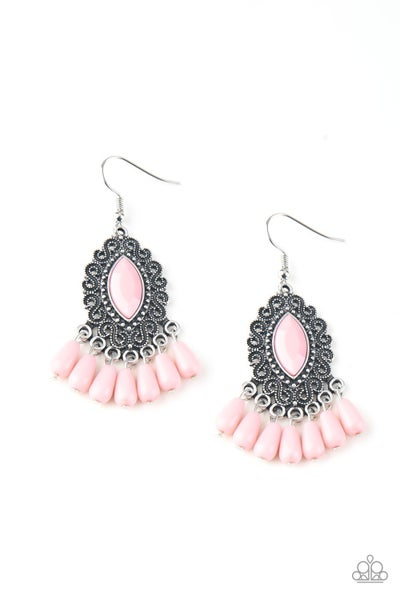 Private Villa Pink Earrings
