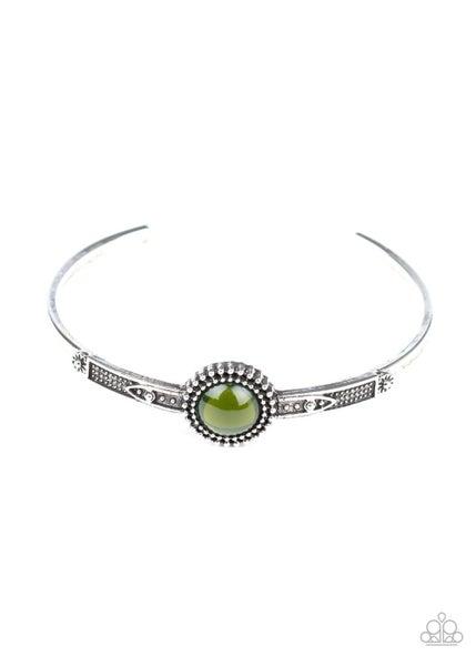 PIECE of Mind Green Bracelet