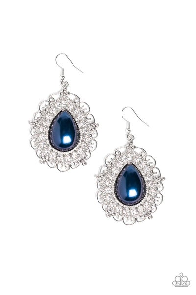 Incredibly Celebrity Blue Earrings