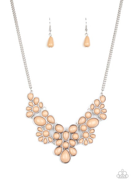 Bohemian Banquet Brown Necklace