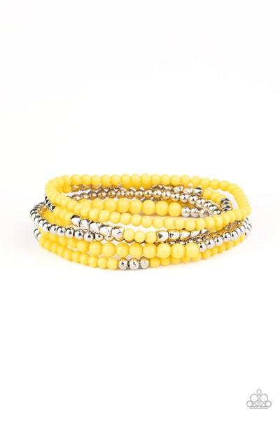Stacked Showcase Yellow Bracelet