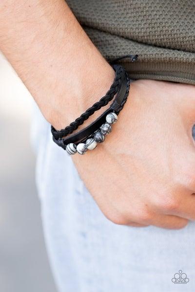 Off-Road Rebel Black Urban Bracelet