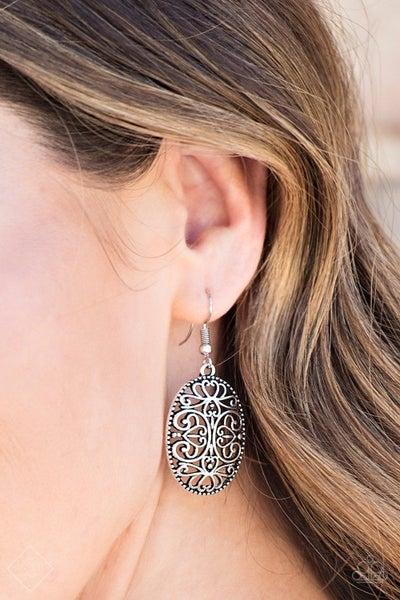 Wistfully Whimsical Silver Earrings