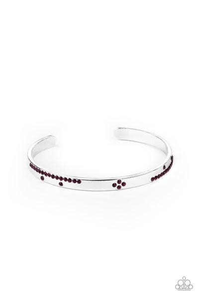 Dainty Dazzle Purple Bracelet