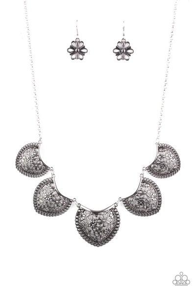 Garden Pixie Silver Necklace