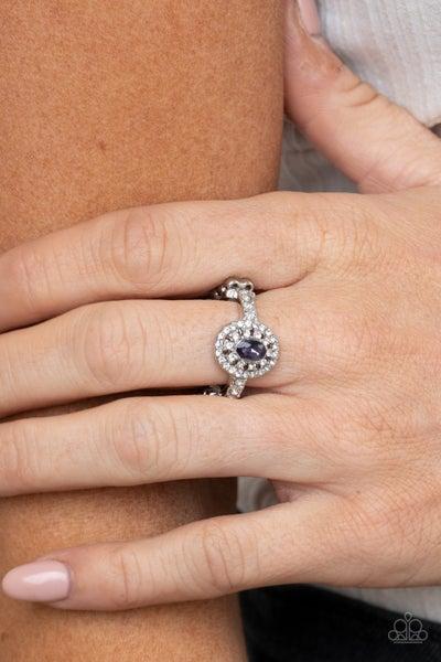 I Said Yes Purple Ring
