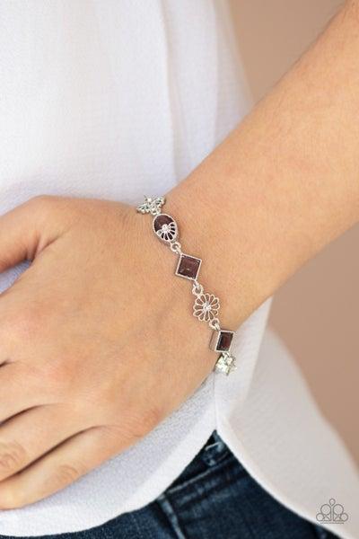 Eden Etiquette Purple Bracelet