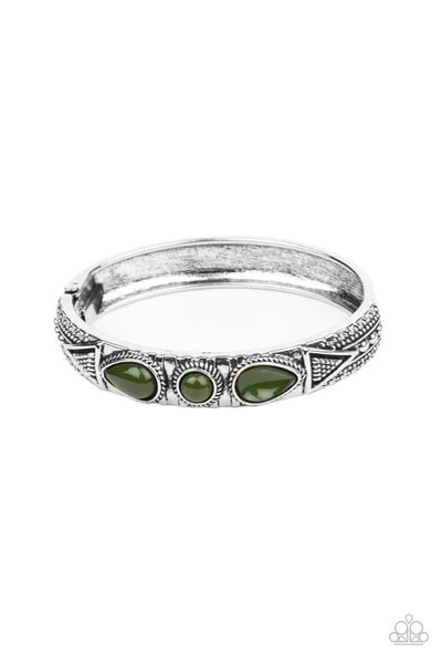 Radiant Ruins Green Bracelet