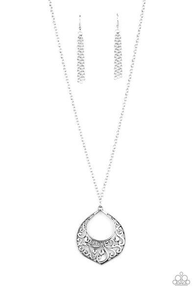 Venetian Vineyards Silver Necklace