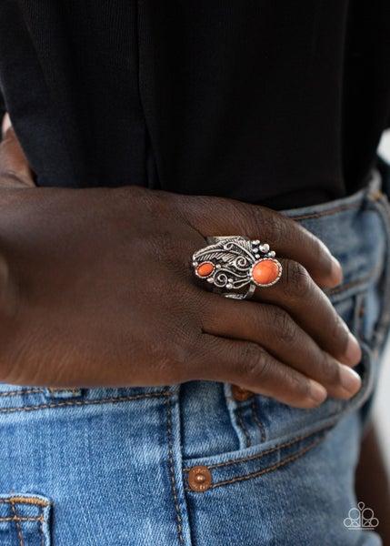 Desert Nest Orange Ring