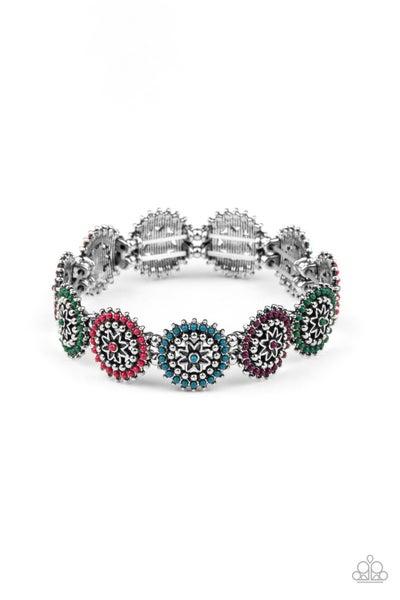 Bohemian Flowerbed Multi Bracelet
