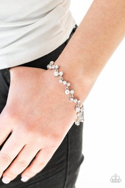 Starlit Stunner White Bracelet