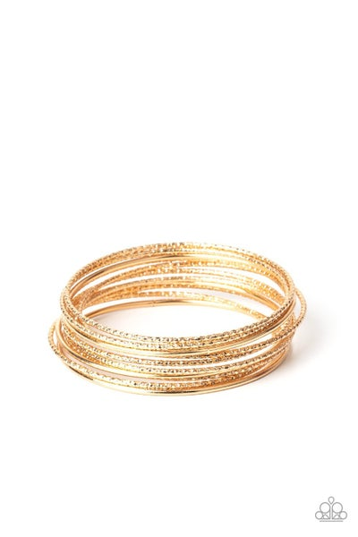 Bangle Babe Gold Bracelet