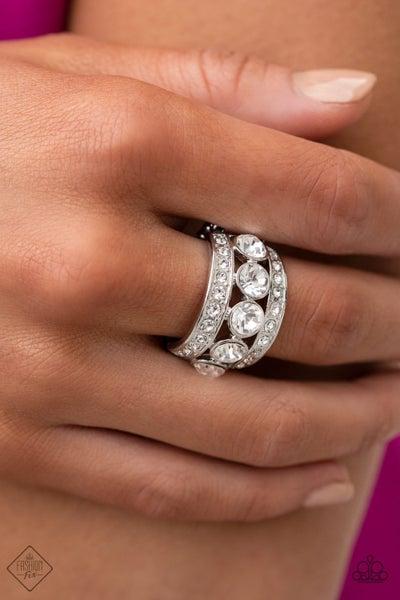 Princess Pedigree White Ring