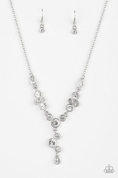 Five Star Starlet White Necklace