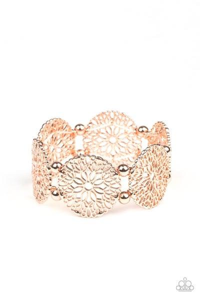 A Good Mandala Is Hard To Find Rose Gold Bracelet