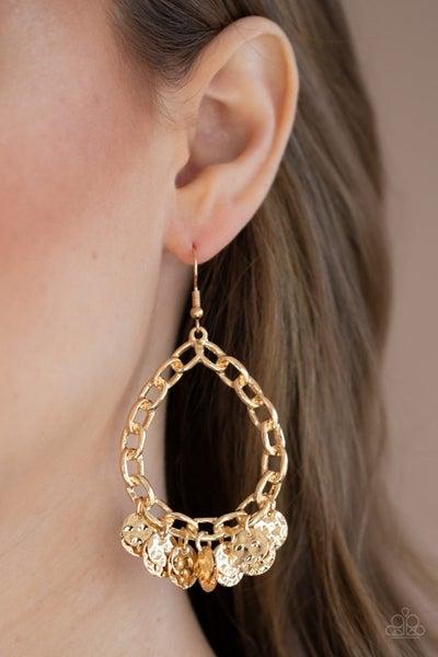 Street Appeal Gold Earrings