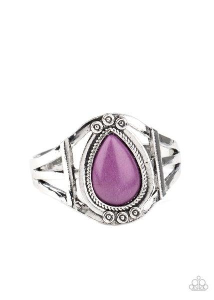 Sage Brush Beauty Purple Bracelet