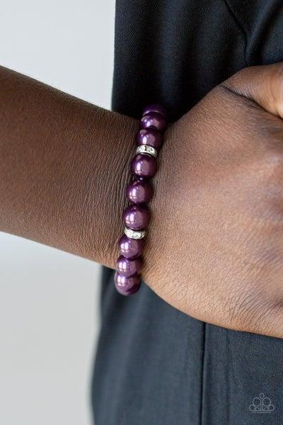Exquisitely Elite Purple Bracelet