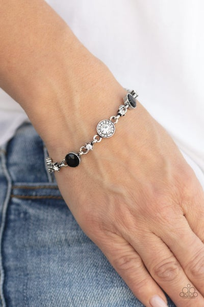 Stargazing Sparkle Black Bracelet