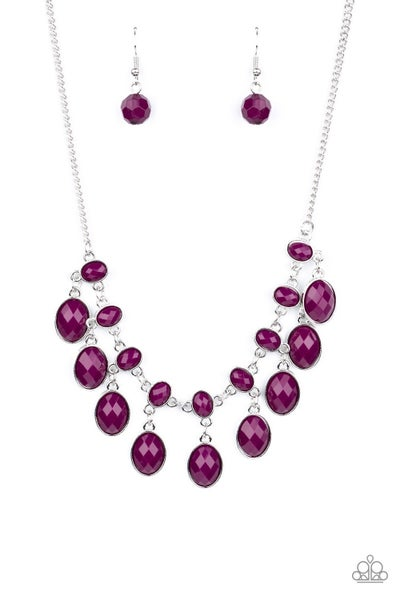 Lady Of The Powerhouse Purple Necklace