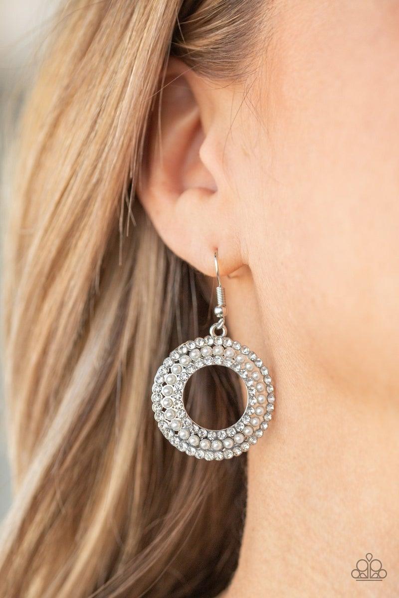 Sparkle Splurge Pearl Earrings