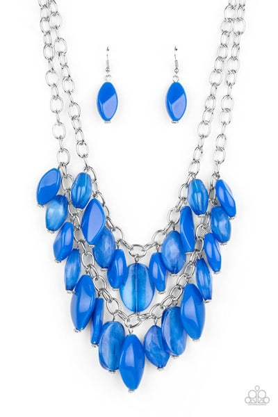 Palm Beach Beauty Blue Necklace