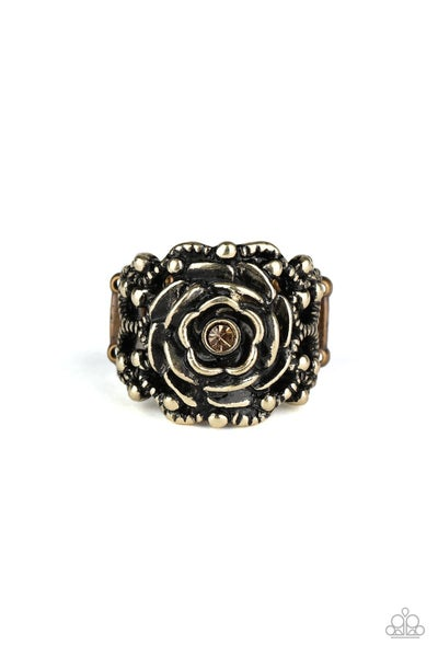 Rose Garden Royal Brass Ring
