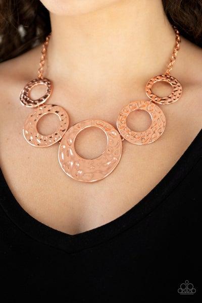 Mildly Metro Copper Necklace