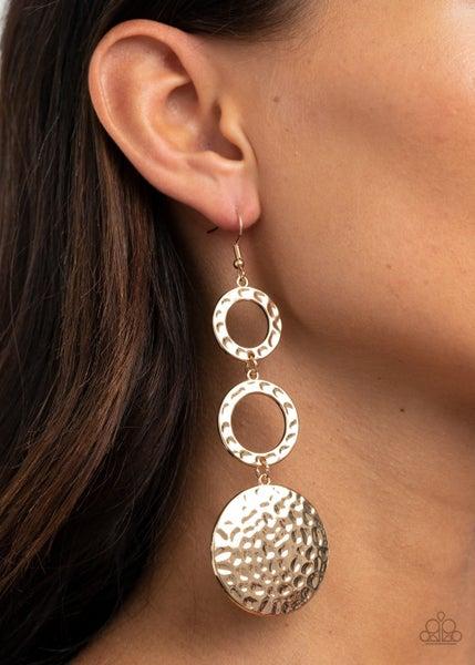 Blooming Baubles Gold Earrings