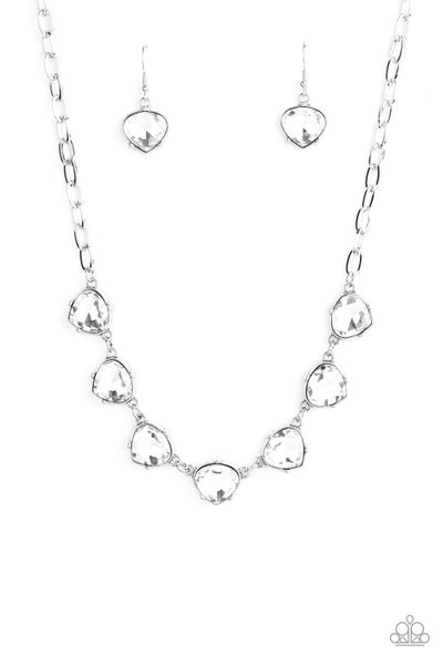 Star Quality Sparkle White Necklace
