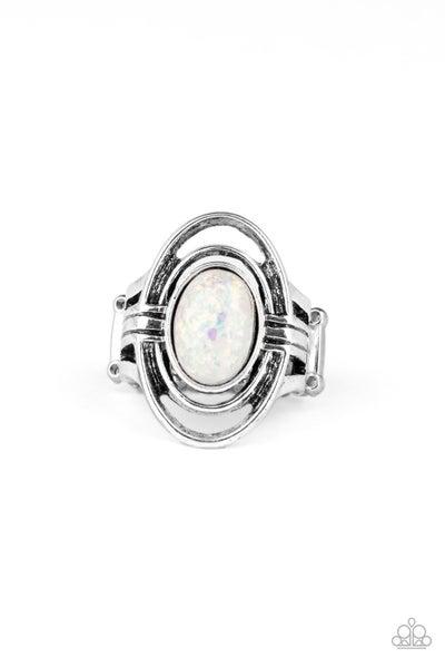 Peacefully Pristine White Ring
