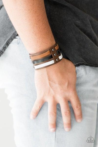 Grizzly Ground Brown Urban Bracelet