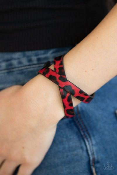 All GRRirl Red Bracelet