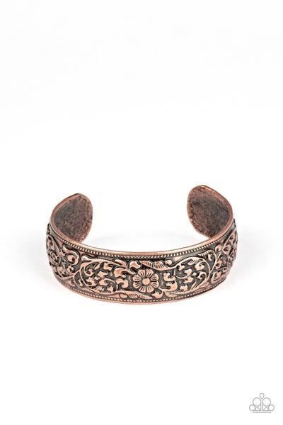 Garden Tropic Copper Bracelet