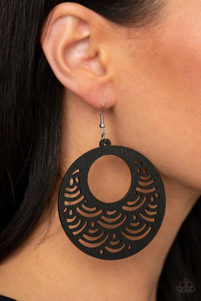 SEA Le Vie Black Earrings
