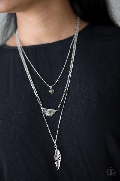 Sahara Sparrow Green Necklace