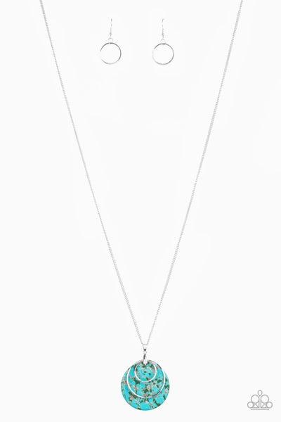 Sahara Equinox Turquoise Necklace