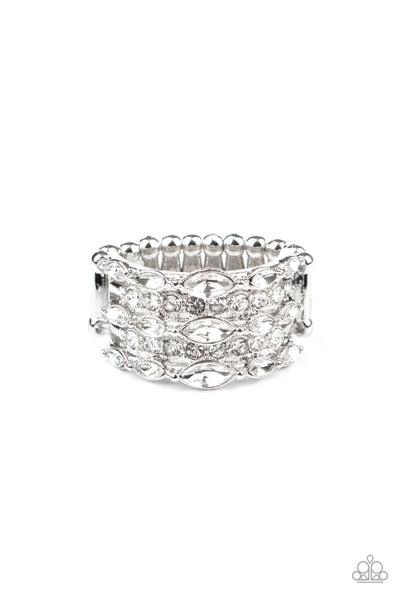 Diva Diadem White Ring